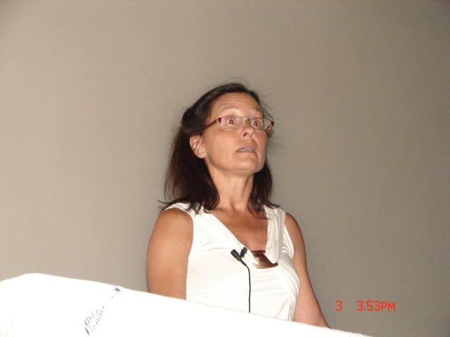 Dra. Laura Alconcher (Nefróloga infantil del Htal. Interzonal José Penna)