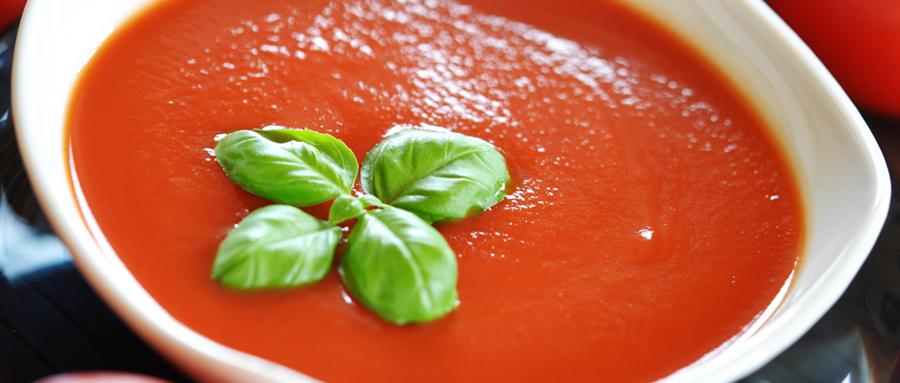 Sopa Crema de Tomates